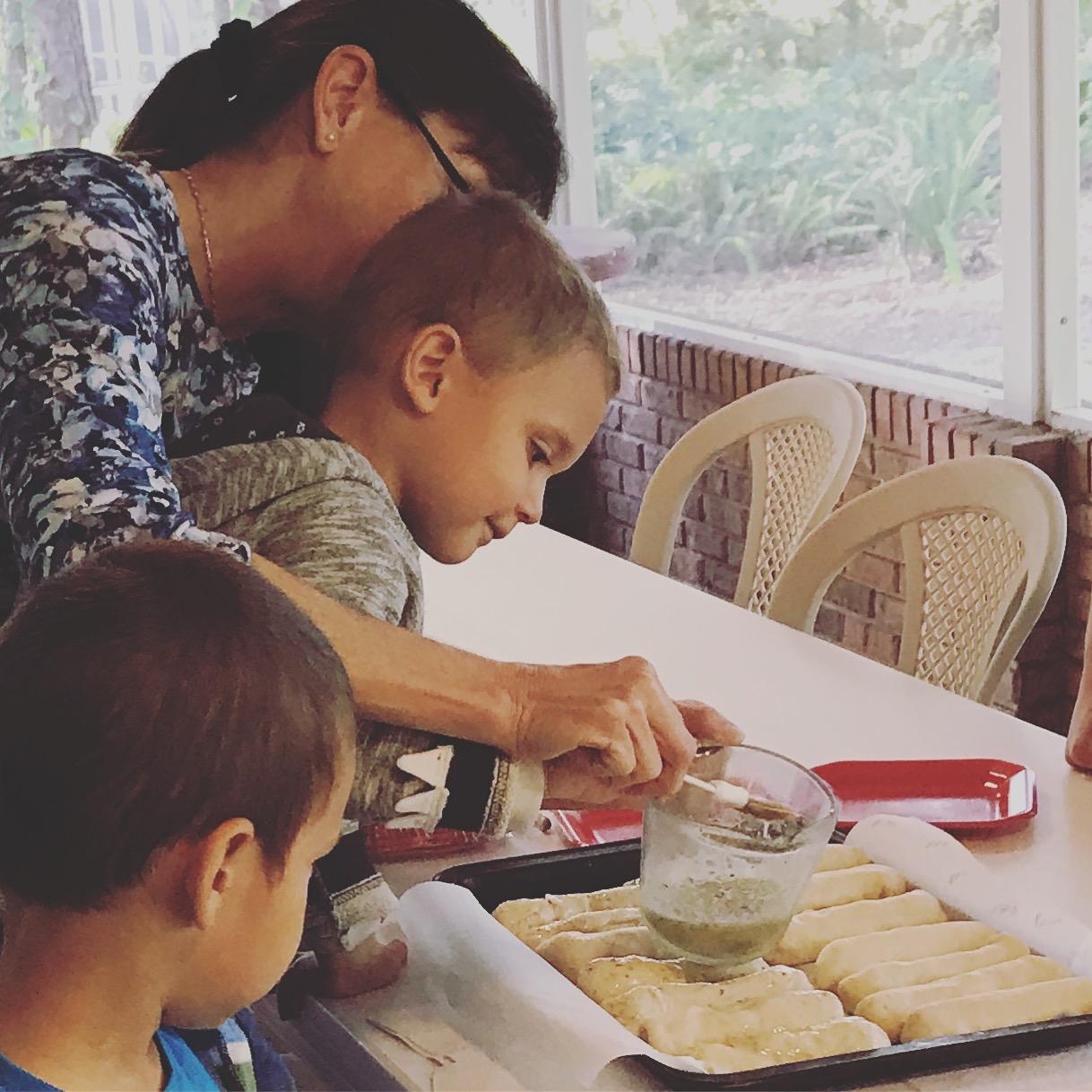 Homeschool Co-Op Day – Pizza Making! 11/4/16