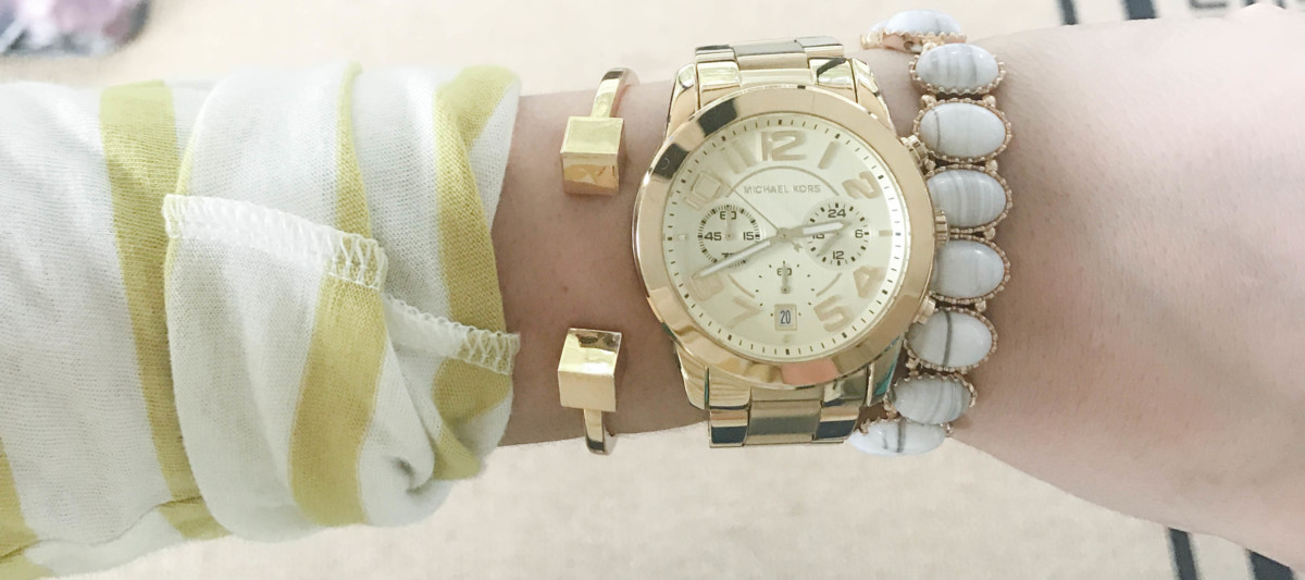 Gold Stackable Arm Candy Inspiration