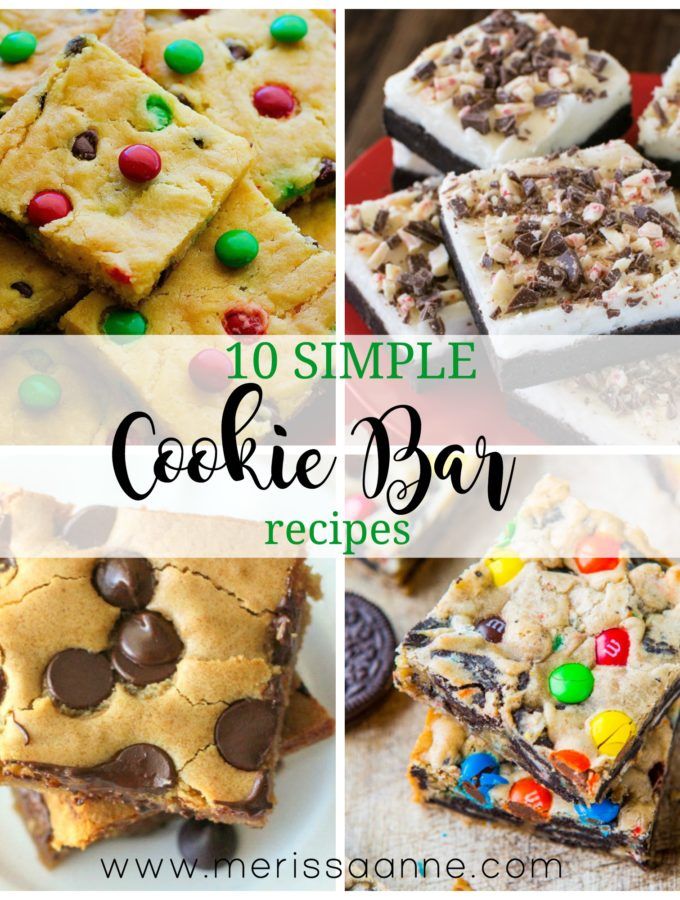 10 Simple Cookie Bar Recipes For Your December Baking List