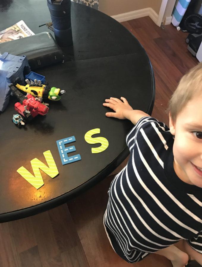 SWEET WESLEY BOY 1/11/2017