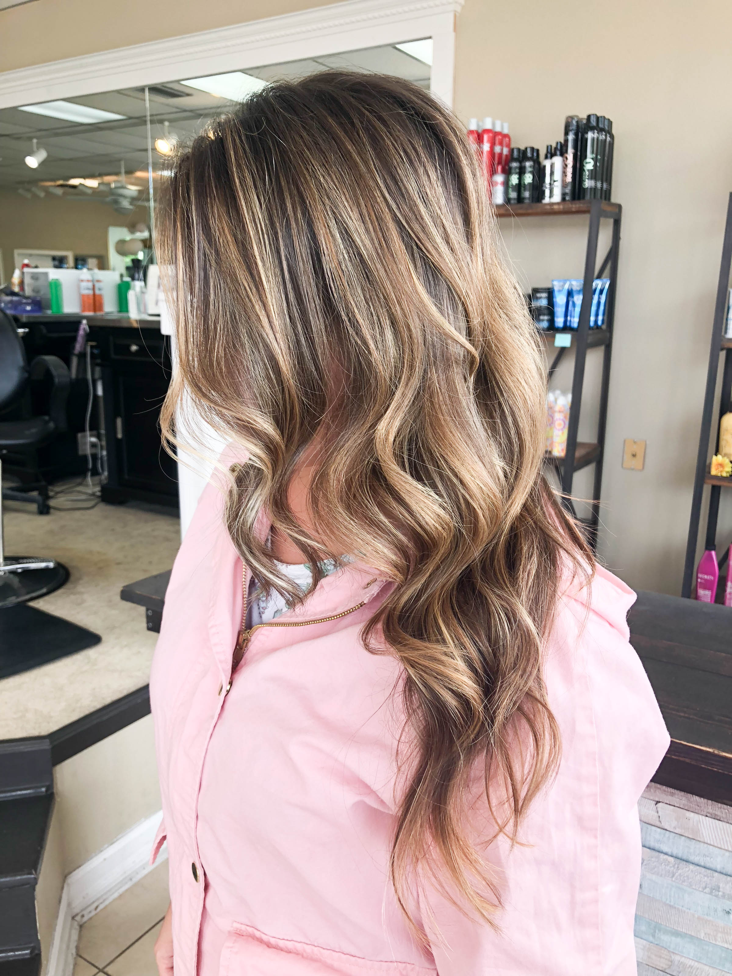 NEW HAIRSTYLE FOR SUMMER – BRUNETTE BALAYAGE