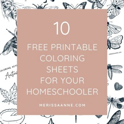 set of 10 free printable coloring sheets
